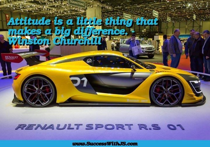 Attitude is a little thing that makes a big difference- Winston Churchill #success buff.ly/1M1y4XR