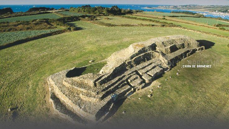 Plus vieux que les pyramides d'Égypte, en Bretagne sur la Baie de Morlaix.