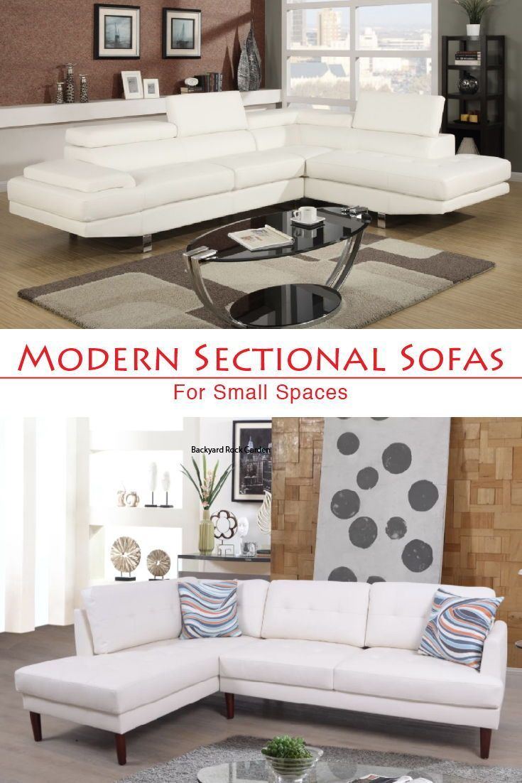 A Compact Modern Sectional Sofa And A Compact White Regular Sectional Sofas Modernsectionalsof Modern Sofa Sectional Sofas For Small Spaces Modern Sectional