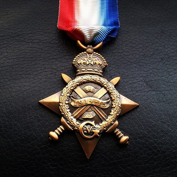 1914-15 Star / Mons Star WW1 Medal For British and Imperial Forces