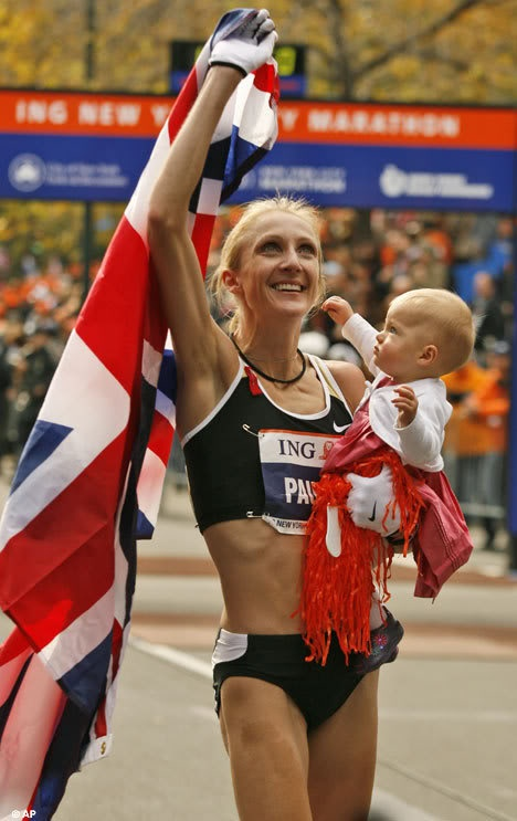 """Paula Radcliffe. #sisterheroes @oiselle"" - @Lindsay Knake"
