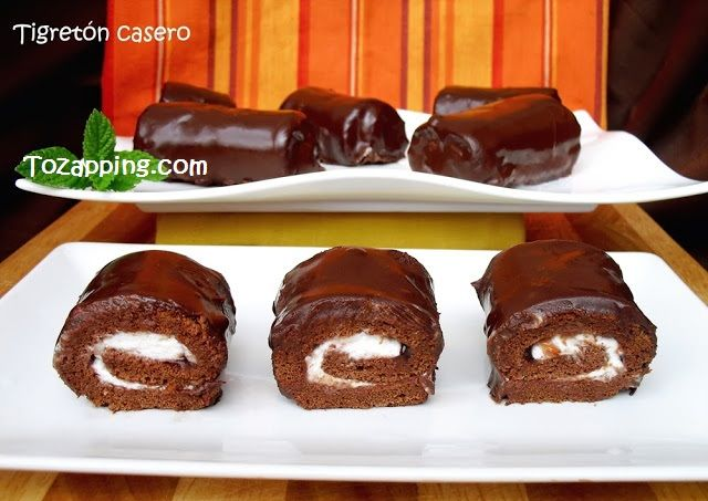 Para los adictos al #chocolate, unos #tigretones irresistibles y espectaculares, os animo a probarlos!!! Ver receta:
