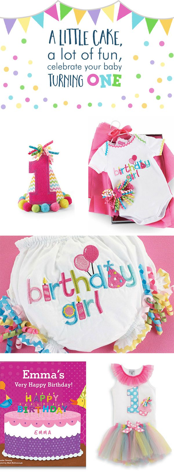 The 25 best first birthday gifts ideas on pinterest babys a rainbow of colors and tutus will make that baby girls first birthday so special negle Gallery