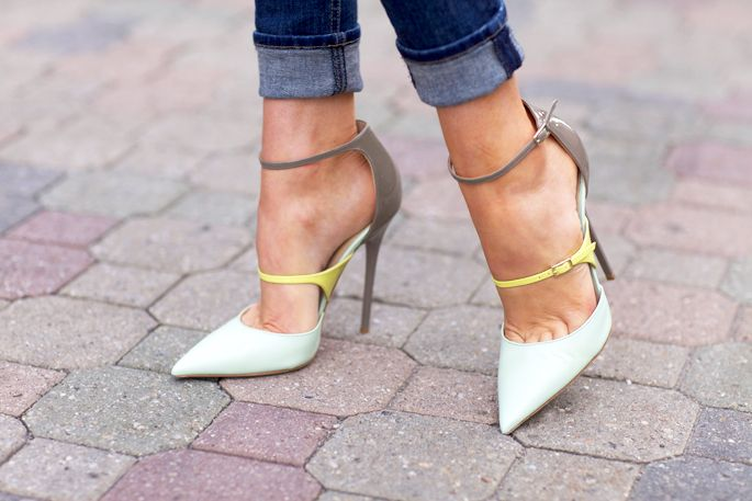 BEAUTIFUL—Jimmy Choo typhoon heels❣ Pinned these from a store site, but seeing them worn—love them even more❣ pinkpeonies.com