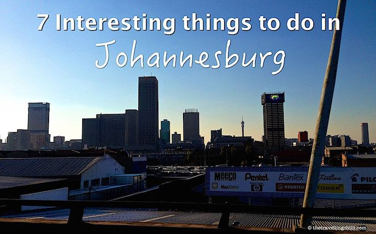 Johannesburg is currently the most visited city of the African continent. There are plenty of things to do in Johannesburg to keep you busy for a while.