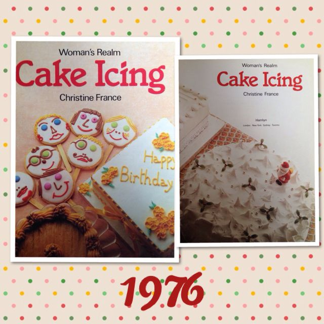 Vintage Recipe Book - Woman's Realm Cake Icing