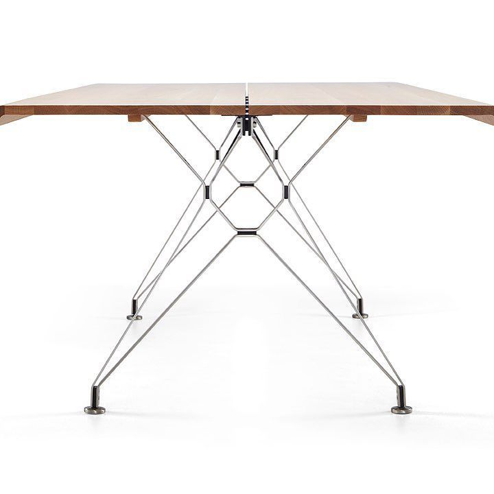 Fiord table by - enough said  #interiors #furniture #design #statement #hotlegs