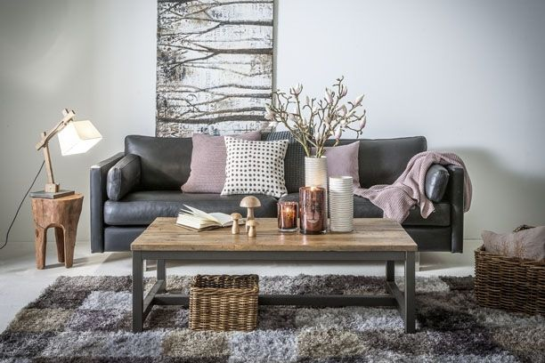Stue med landlig romantik