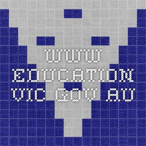 www.education.vic.gov.au
