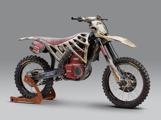 Honda e Mugen insieme per la moto da cross elettrica E.Rex
