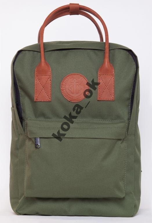 Рюкзак городской молодежный GIN Том Коллинз хаки