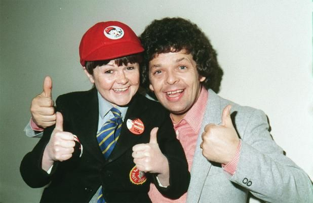 Troubling husband and wife/son duo,  the krankies