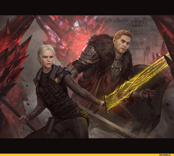 GerryArthur-Инквизитор-(DA)-DA-персонажи-Dragon-Age-3557527.jpeg (1024×905)