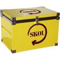 Caixa Térmica Skol - 500 Litros com capacidade para 312 garrafas