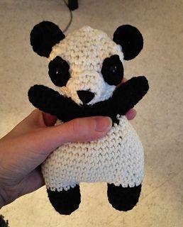 free pattern panda