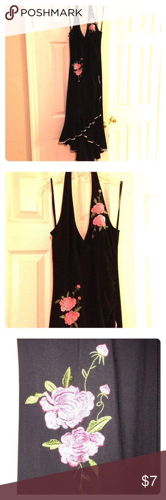 Lipstick Black Halter Dress sz L Juniors Beautiful Halter black dress for Juniors sz L Lipstick  Dresses Backless