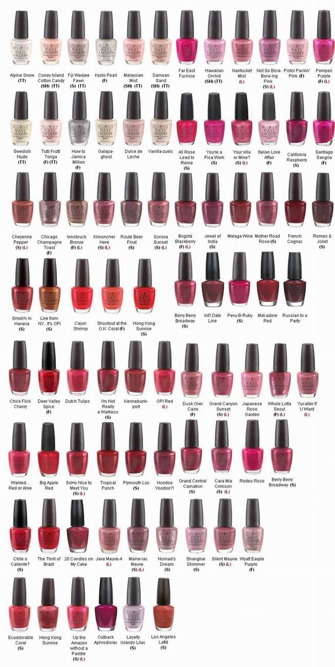 Can't get enough of OPI nail polishes, available online at The London Perfume Company.