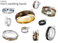 58 Camo Wedding Rings and Engagement Rings | TheKnot.com