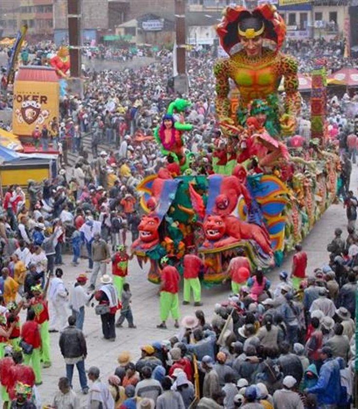 Carnaval de Barranquilla, Colombia .