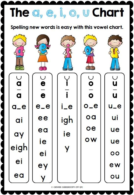 FREE Vowels Desk Strips and FREE Giant Sight Words Game Board