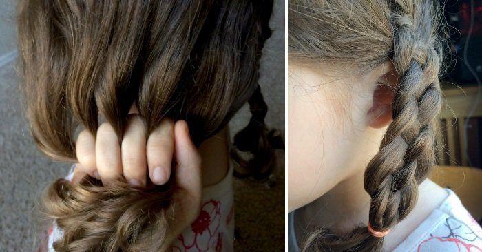 17 Lazy Hair Ideas for Girls, #Girls #Hair #Ideas #Lazy