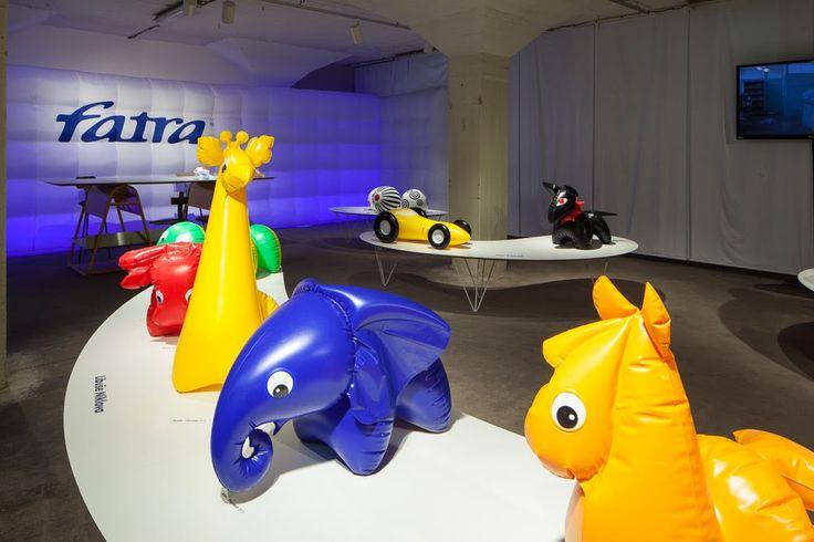 Instalation for Fatra Toys, foto: Tomáš Souček.