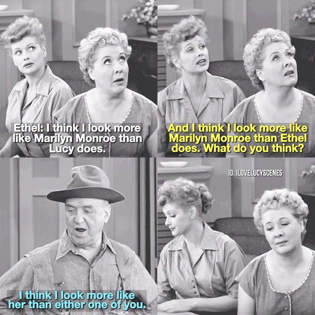 "A re-make of this scene I had posted before Another Marilyn Monroe mention in ""I Love Lucy!"" – Episode: Ricky's Movie Offer  #ilovelucy #happybirthdayMarilynMonroe"