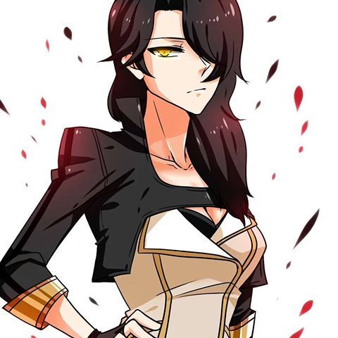 Cinder in Yang's clothes