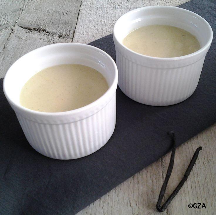 Vanille pudding. #lactosevrij #koemelkvrij #sojavrij