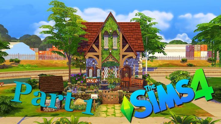 Строительство в Симс 4: Старый английский дом Часть 1 / The Sims 4 House...