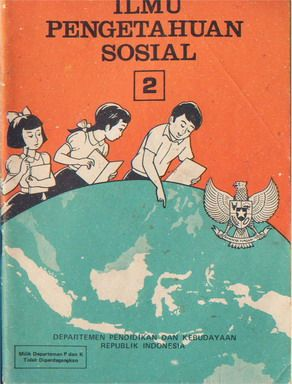 Vintage Indonesia Textbook