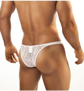 Calzoncillo encaje joe snyder bikini capri 07 blanco - Ropa sexi masculina ...