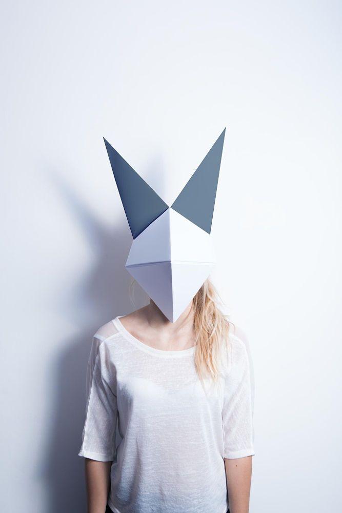 Оригами инструкция маска