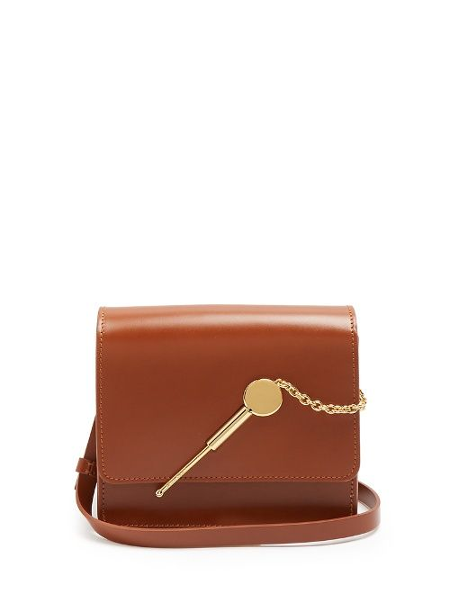 Cocktail Stirrer small leather cross-body bag | Sophie Hulme - AVAILABLE HERE: http://rstyle.me/n/cn3wxfbcukx