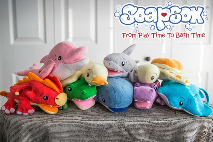 It's a fantastic Saturday at This Little Piggy! We hope you are enjoying your weekend as much as we are! Stop on by, and mention Pinterest for the deal of the day, 15% off of SoapSox! These little pals make bath time a blast! Call or stop in for additional information (910) 944-8300