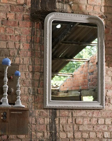 mirrordeco.com — Victoire - Decorative Over Mantle Mirror, H:90cm