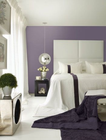 12 colour schemes to make a small bedroom feel bigger. Image by Dulux.