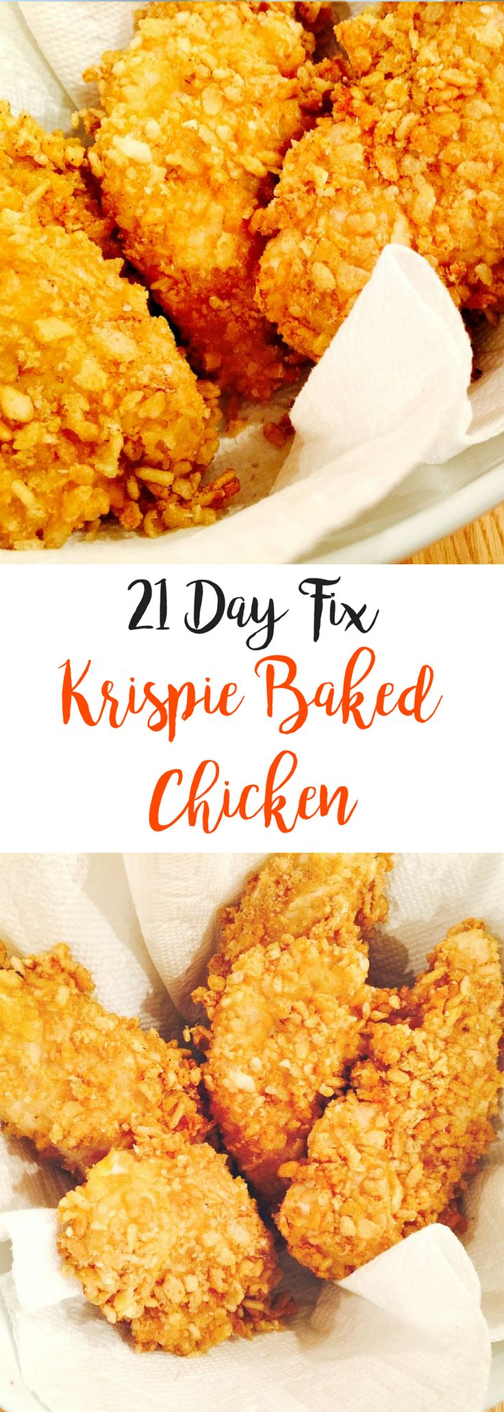 21 Day Fix Krispie Baked Chicken | Confessions of a Fit Foodie