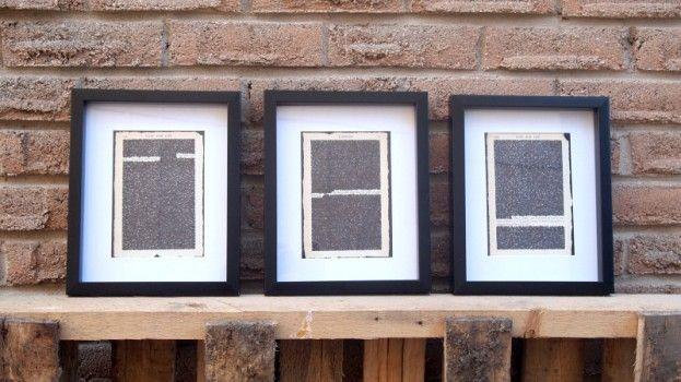 DIY: quotes uit je favoriete boek worden mooi artwork voor aan de muur