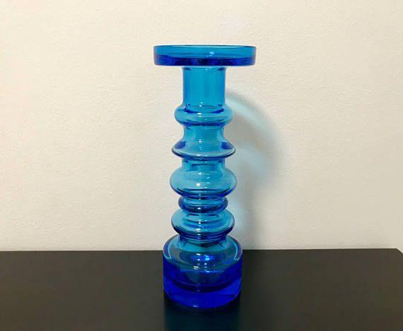 Oiva Toikka 'Pikku-Majakka' Small Lighthouse Blue