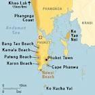 Kamala Beach Map