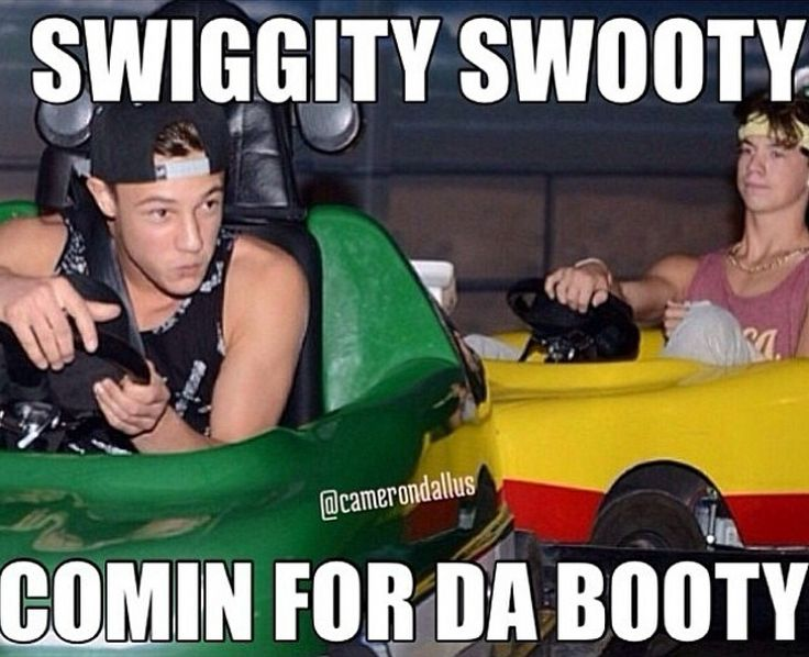 Haha Taylor Caniff and Cam Dallas