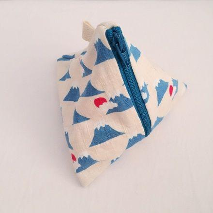Handmade Triangular Pouch - S$12