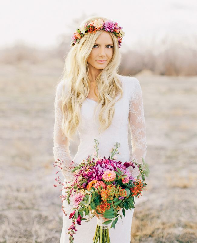 I wish I could pull this look off! The Best Dressed Brides of 2013