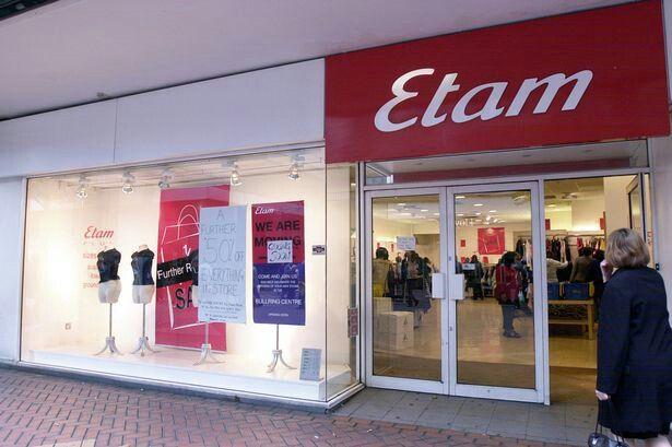 Etam clothing shop
