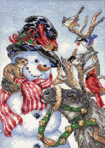 Snowman Cross Stitch Patterns
