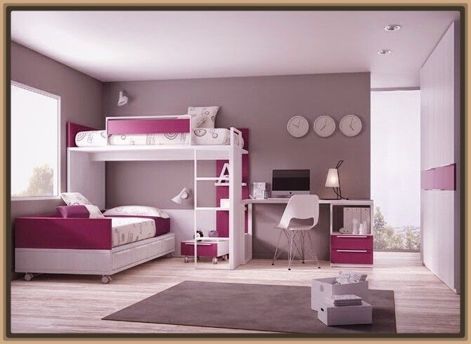 Fotos de camas dobles para ninos