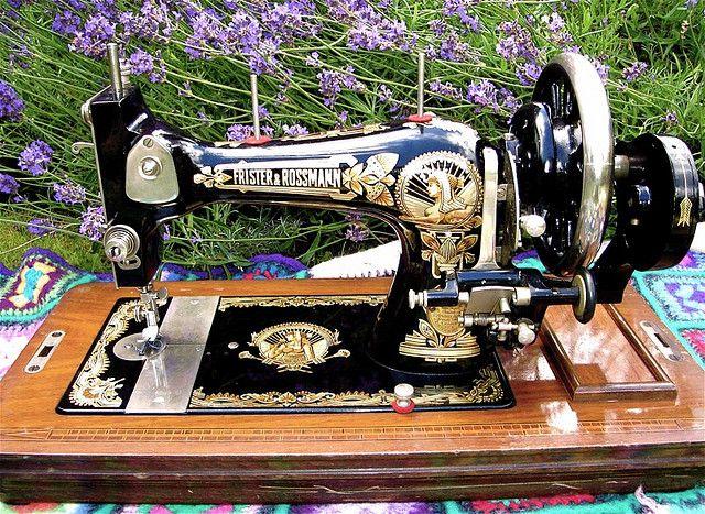 Frister & Rossmann vintage sewing machine