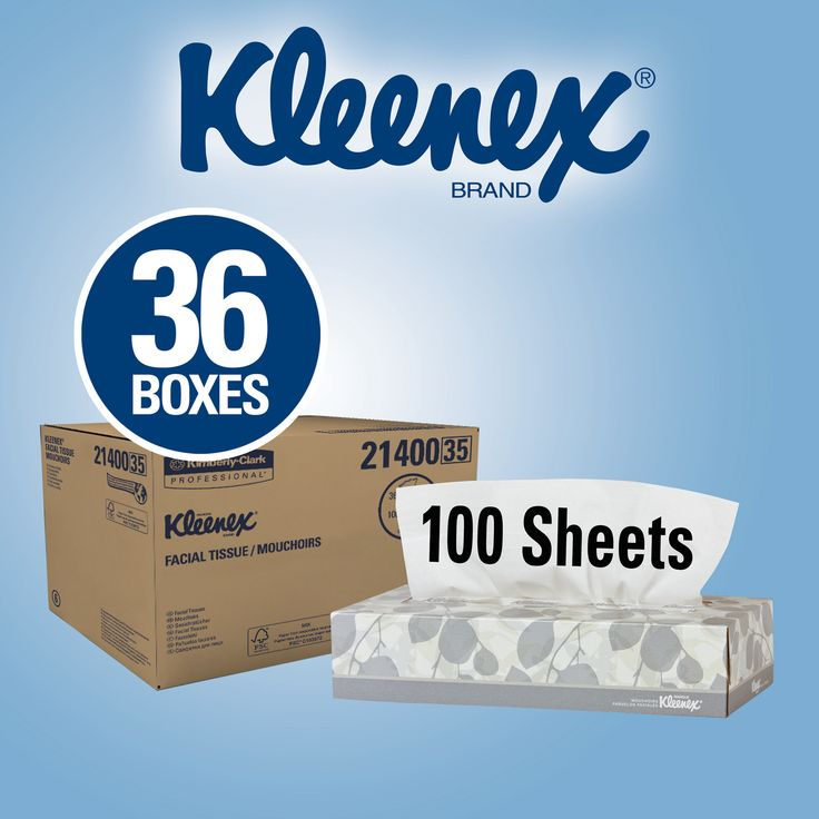 Kleenex Facial Tissues 2-Ply White 36ct