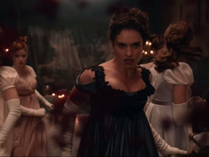 Watch: The Gory First Trailer for Pride and Prejudice and Zombies